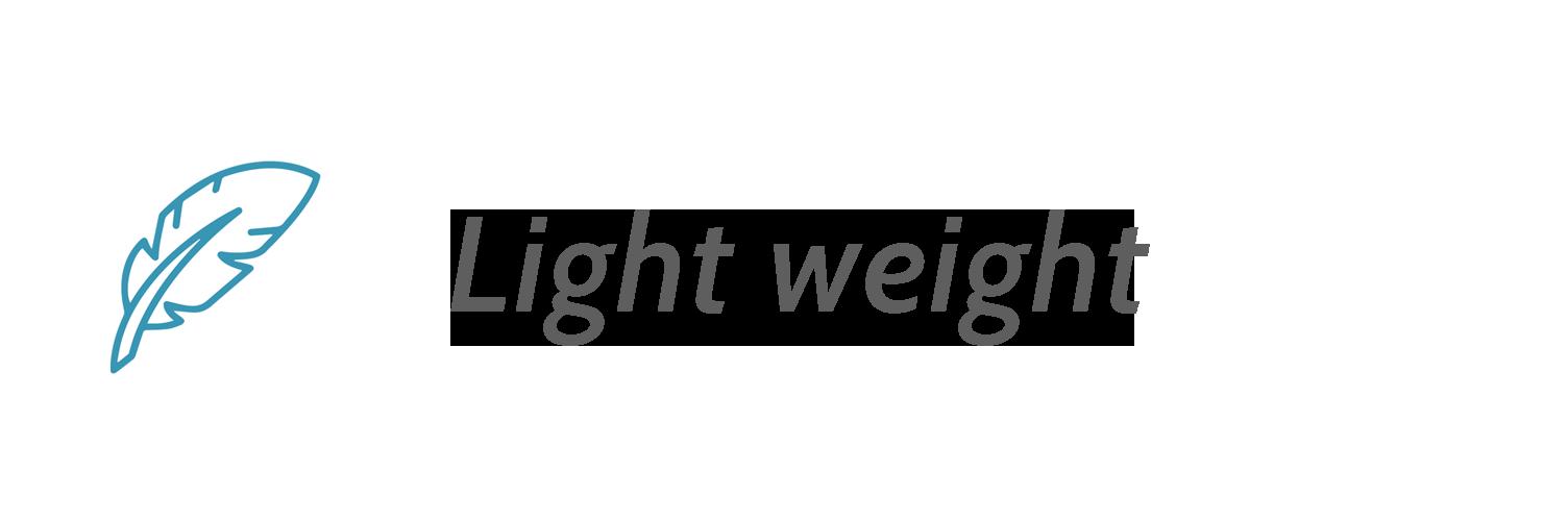 Lichtgewicht Waterfles